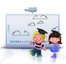 china supplier high quality smart utrasound electronic interactive whiteboard iwb education board - Electronic Whiteboard