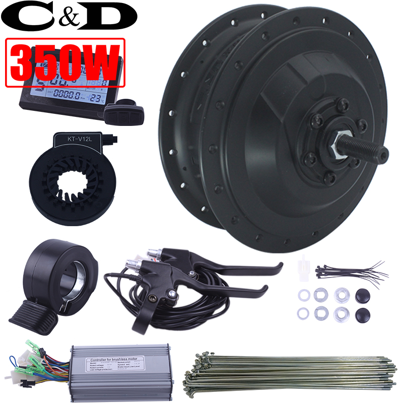 36V 350W 48V 500W XF 15F 15R motor MXUS brand ebike kit Electric bike conversion kit