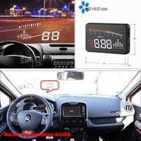 Para Renault Clio III Safe Driving Car HUD Head Up Display Tela Do Projetor Refkecting Brisa|up display|windshield projector|head up projector -