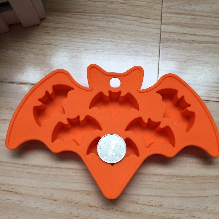 6 Cavity Silicone Mould Bat Shape Ice Mold Cake Jelly In Molds From Home Garden On Aliexpress