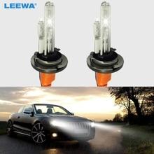 LEEWA 2 шт. автомобиля 12 В 35 Вт H15 ксеноновых ламп с галогенная лампа замена HID фары лампы 6000 К# CA2015
