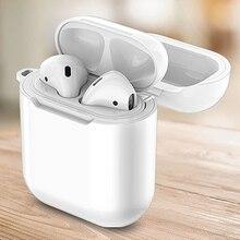 Новинка, высокое качество, Bluetooth гарнитура, зарядное устройство, беспроводное зарядное устройство, зарядка для наушников, защитный чехол для Apple Airpods