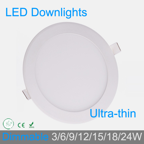 3W 4W 6W 9W 12W 15W 18W 24W 24W regulable downlight de rejilla LED - Iluminación interior - foto 6