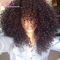 Incrível Cabelo 7a Malásia Kinky Curly Cabelo Weave 4 Bundles 18 Polegada Empresa Yvonne Cabelo Encaracolado Weave Do Cabelo Humano Com Desconto