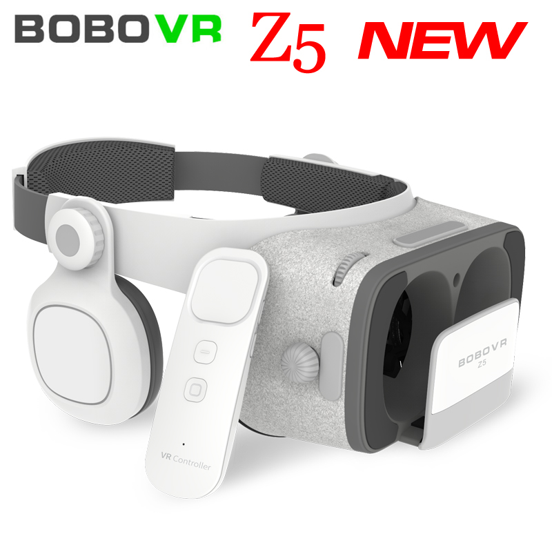 NEW Global Version BOBOVR Z5 <font><b>Virtual</b></font> <font><b>Reality</b></font> Headset <font><b>VR</b></font> Box 3D <font><b>glasses</b></font> Cardboard for Daydream smartphones Full package + GamePad