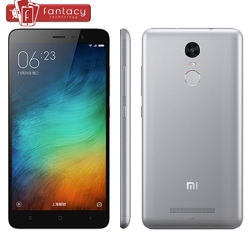 US $179 99 |Original Xiaomi Redmi Note 3 Prime MTK Helio X10 Octa Core Full  Metal Fingerprint ID 3G RAM 32G ROM FDD LTE 4G 5 5