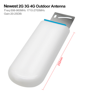 Image 2 - Newest 2g 3g 4g lte CDMA gsm dcs outdoor Antenna 22dBi  4G LTE UMTS 900 1800 2100 MHz Booster Repeater outside Antenna