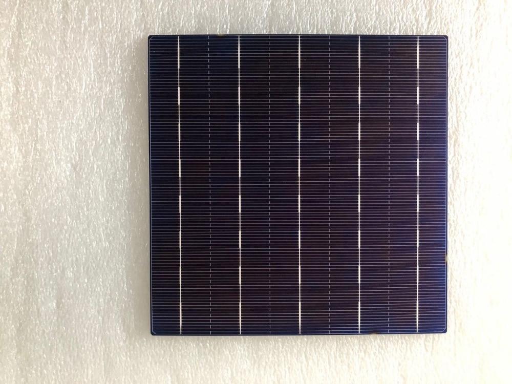 Promotion 50pcs 18 6 4 5W 156 75mm 5BB polycrystalline Solar cell for DIY solar panel