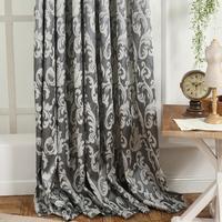 Window Curtain European Style Semi Blackout 3D Curtains For Living Room Modern Curtain Kitchen