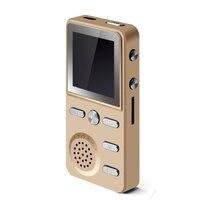 Sıcak Satış İşlevli X6 Pro HIFI APT-X Dijital MP3 Çalar Stereo bas 4G 8 GB Spor Müzik TF Kart FM Radyo Saat HD ekran