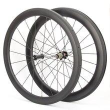 50mm Clincher Road Wheelset G3 Wheelset bicicleta ruote carbonio 18/21 holes