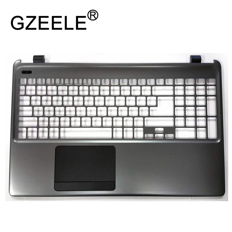 GZEELE new for Acer Aspire E1-572 E1-570 E1-530 E1-510 E1-570G E1-572G Palmrest cover upper case keyboard bezel without touchpad quying laptop lcd screen for acer aspire m3 581tpg f5 571 e1 572 e1 530 e1 532 e1 570 e1 570g series 15 6 inch 1366x768 30pin