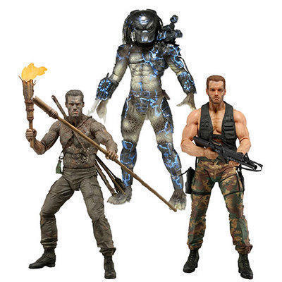 7 inch NECA The 9th wave (25th Anniversary Edition) card loading DOLL Action Collectible Statue Toy Figure silence of the lambs 25th anniversary edition