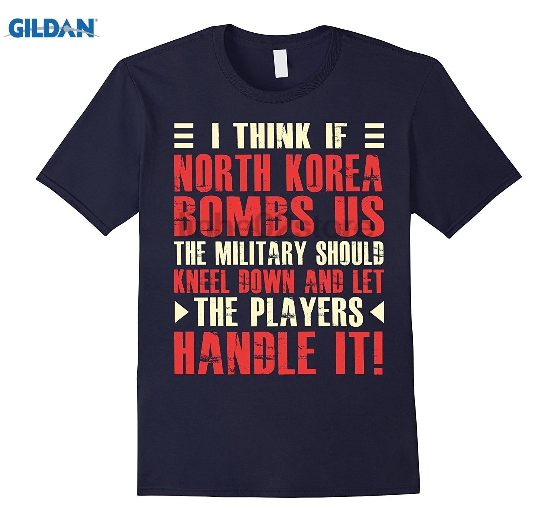 Возьмите думаю если Северная Корея бомбы нами .. Игроки ручка это Ши платье женские футболки Для женщин футболка