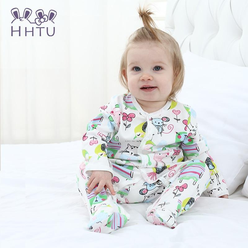 HHTU Conjuntos de Mamelucos para Bebés New Newborn Baby Boys Girls - Ropa de bebé - foto 2