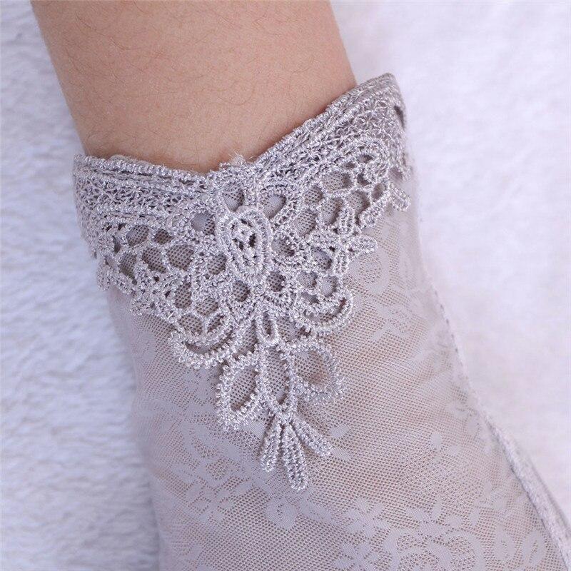 Women's Summer UV-Proof Driving Gloves Gloves Lace Gloves luvas hand gloves guantes eldiven handschoenen #2O28 6