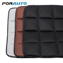 FORAUTO cuscino per seggiolino auto in carbone di bambù 45*45cm cuscini traspiranti cuscino per seggiolino auto coprisedili neri/grigi/marroni cuscinetti comodi