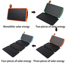16000mAh Power Bank Waterproof Solar Charger External Battery Backup Pack for Phone Tablets Loptops LED light solar power bank 30000mah waterproof external battery backup powerbank phone batteries charger led pover bank rechargeable