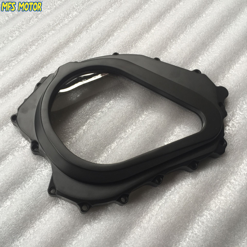 motorcycle parts Custom aluminium Cluctch cover For Honda 2004 2005 2006 2007 CBR 1000RR Black aftermarket free shipping motorcycle parts black chain guards cover for honda 2004 2005 2006 2007 cbr 1000rr