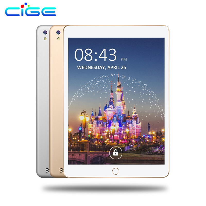 CIGE Tablet 10.1 inch Octa Core 4GB RAM 32GB ROM Android 6.0 tablet PC 32GB 1280*800 IPS Dual Cameras 3G 4G LTE tablets +Gifts cige a6510 10 1 inch android 6 0 tablet pc octa core 4gb ram 32gb 64gb rom gps 1280 800 ips 3g tablets 10 phone call dual sim