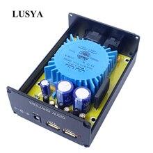 Lusya fuente de alimentación con regulador de CC, 5V, USB, HIFI, lineal, 15W, CAS XMOS, frambuesa, para amplificador de hogar, T0089