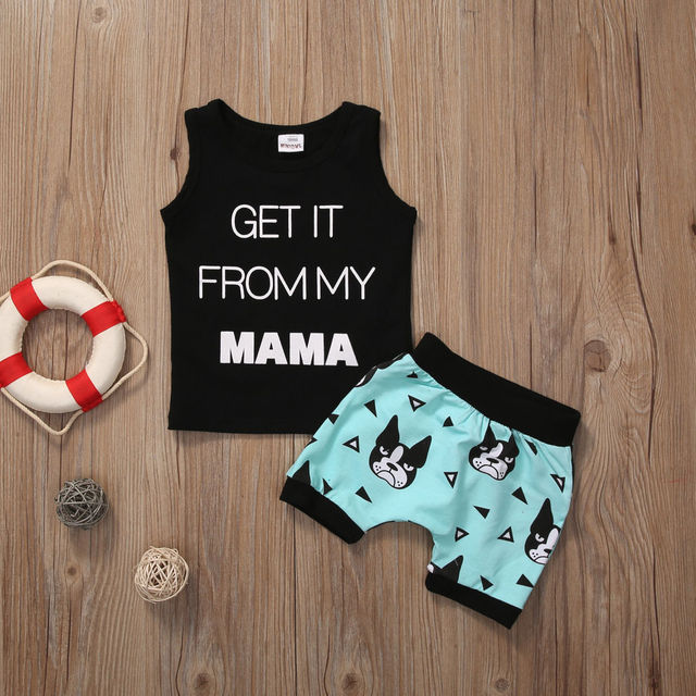 Boys Cool Soft Clothing Set