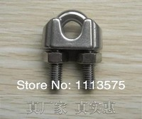 M20, 304,321,316 Stainless Steel Wire Rope Clip Fascetta hardware sartiame, vendita diretta Della Fabbrica