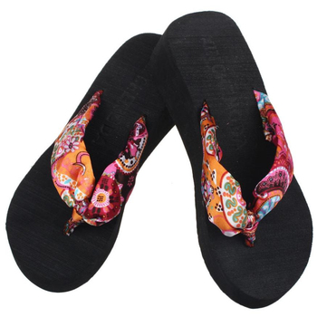 Sandali per ragazze, Infradito con zeppa con plateau, Sandali da spiaggia, Infradito pantofole casual - Sandals girls,  Wedge Platform Thong Flip Flops, Sandals Shoes Beach, Casual Slippers flip flops, 1