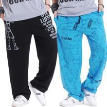 Plus fertilizer slacks Men Clothing Breeches Hip-Hop Pants Male Casual Harem Trousers Pants dj singer ds dancer costumes