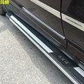 Новый Алюминиевый Сплав Стайлинга Автомобилей Ноги Подножка Подножку Для Volkswagen Touareg 2009-2015 Боковой Педали