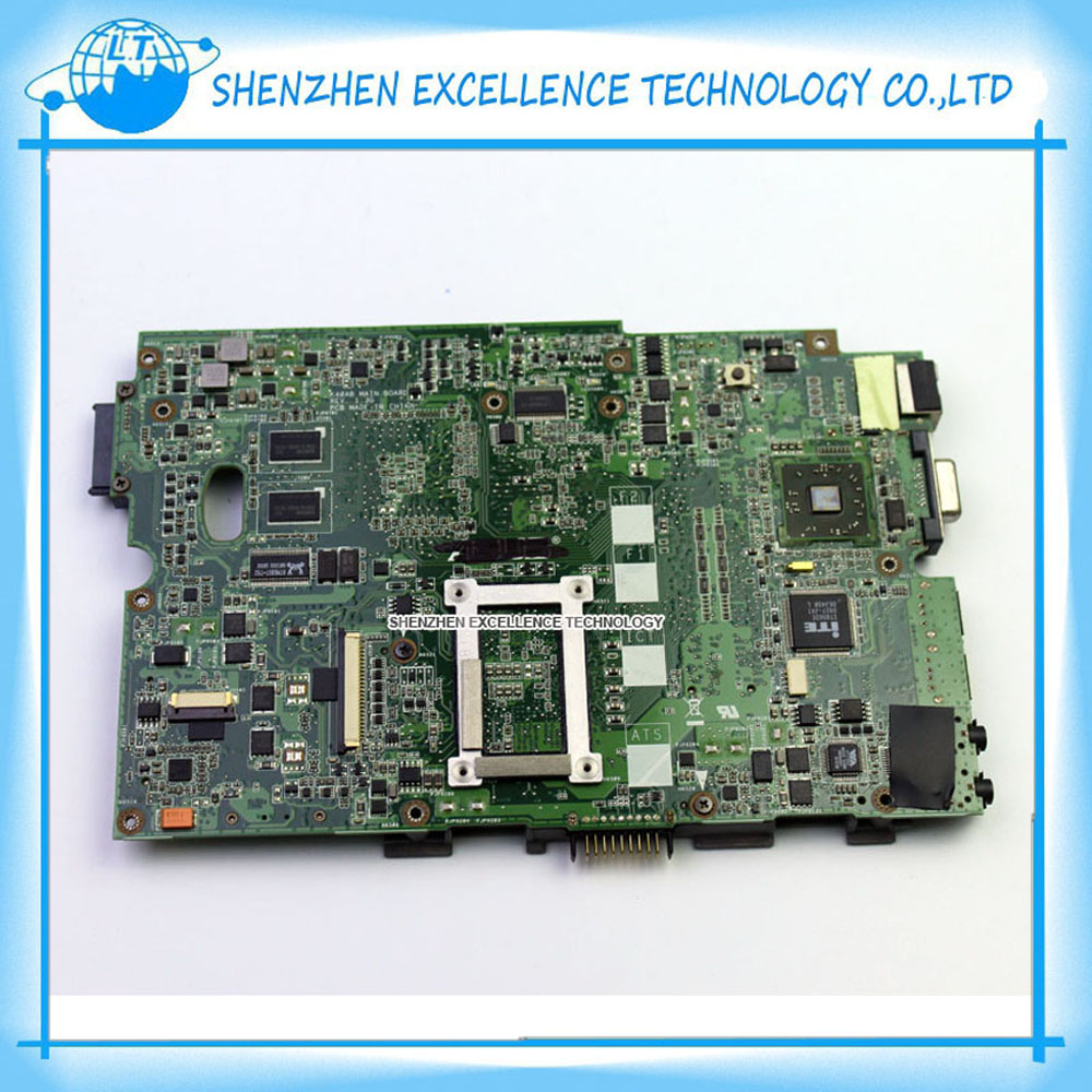 Original K50AD motherboard for Asus laptop DDR2 k40AB Mainboard Tested коврик для мышки круглый printio дельфины
