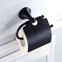 Oil Rubbed Bronze Wall Mounted Bathroom Tissue Paper Holder Toilet Paper Roll Holder KD862