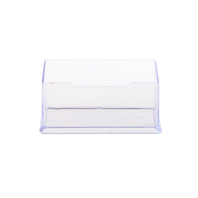 1pcs display stand acrylic plastic new clear desktop business card 1pcs display stand acrylic plastic new clear desktop business card holder desk shelf box storage colourmoves