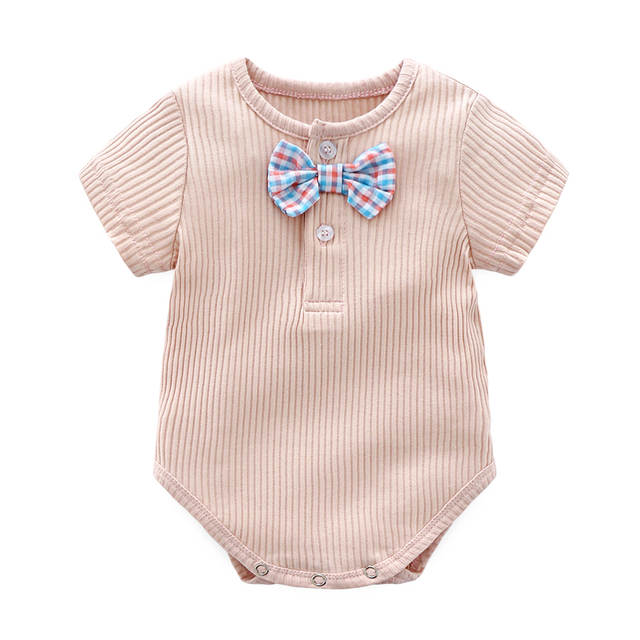 b0237a900397 Newborn Baby Bodysuit Baby Boy Summer Clothes Cotton Baby Clothes 2018 Infant  Onesie Playsuit Newborn outfits