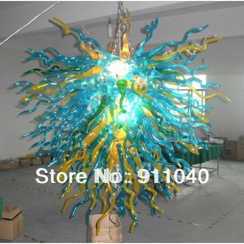 C30 New Design Bright Colored Chandeliers Modern