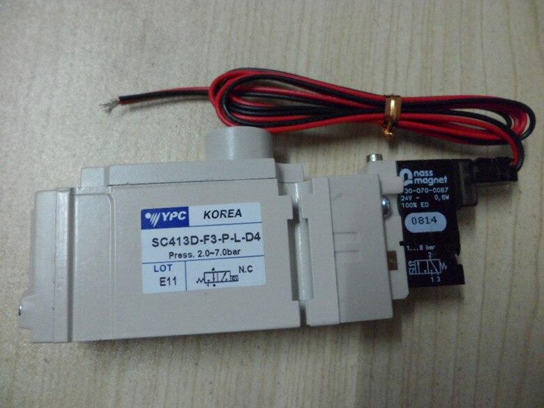 Korea SC413D-F3-P-L-D4 Solenoid valveKorea SC413D-F3-P-L-D4 Solenoid valve