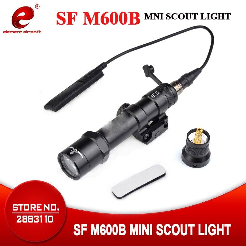 Airsoftsports élément arme Softair M600B Scout lumière pour Surefir tactique lampe de poche LED 470 Lumen pistolet arme lumière EX410