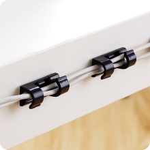 20pcs/pack High quality Self-adhesive wire storage clips buckle organizer securing cable clamp housing  line fixed decor.