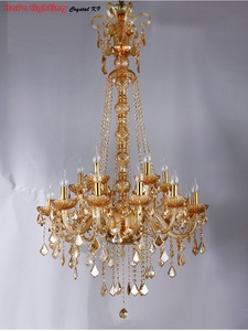 Image 5 - Long Stair Chandelier Crystal Large Foyer Light Modern Fashion Living Room Dining Hall Complex Staircase Lighting chandelier