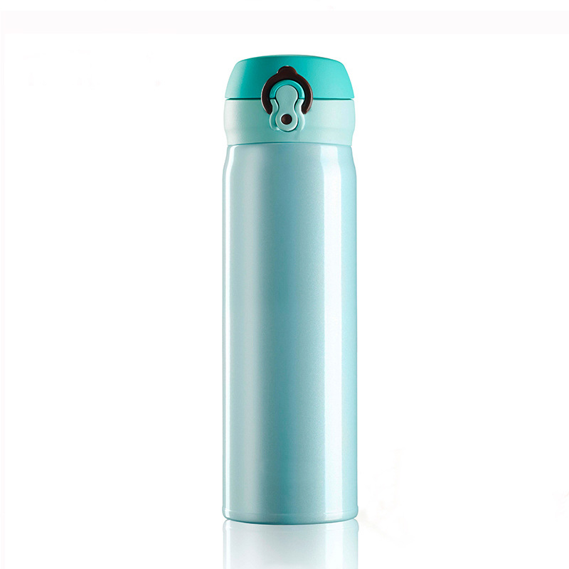350 500ml Portable Stainless Steel Water Bottle Thermal Pot Bicycle Camping Sport Water Bottle BPA Free