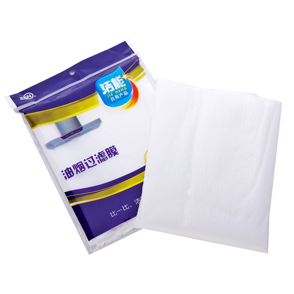 12pcs/bag Can Change The Kitchen Zanussi Cooker Hoods Filtered Oil Absorbing Cotton Non-woven Filter Paper Of Oil Absorption