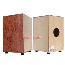 Afanti Music Rosewood / Birch Wood / Natural Cajon Drum (KHG-222)
