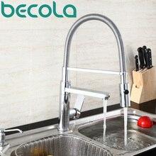 Becola Лидер продаж Модные Кухня кран раковина из нержавейки вытащить спрей Кухня Смеситель Бесплатная доставка CH-8013