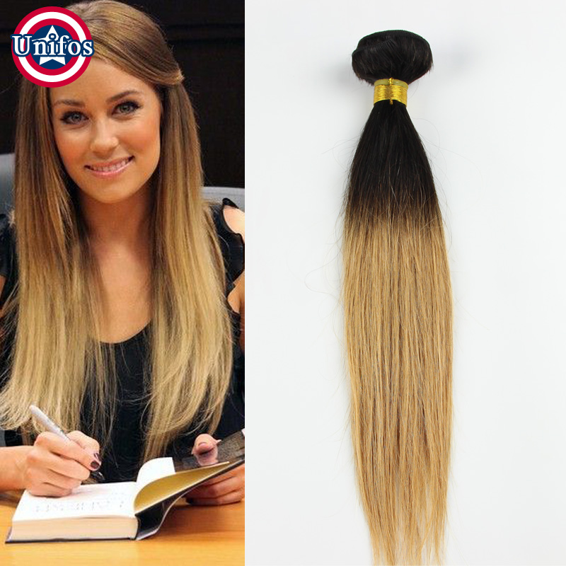 Malaysian Ombre Hair Extensions 1b273099j Dark Roots Honey Blonde