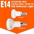 Full Watt SMD 5730 3W 5W 7W E14 LED Corn Light R50 AC85-265V LED Lamp Spotlight Candle Indoor Lampada LED Lighting