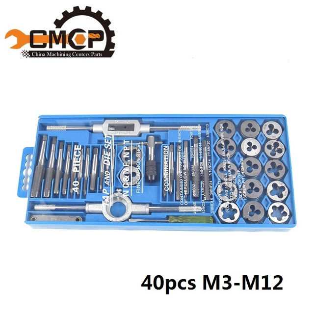 40pcs Tap and Die
