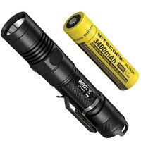2018 NITECORE MH12GT LED Flashlight CREE XP L HI V3 1000 LM Torch Flashlight with USB Rechargeable + 1PC 3400mah 18650 Battery