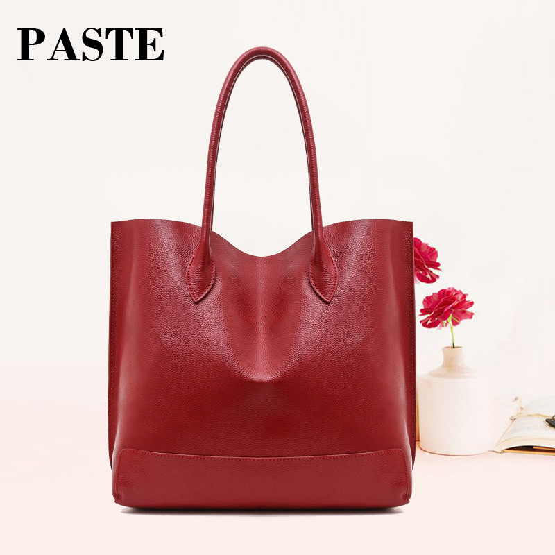 2017 Famous Brand Genuine Leather Bag Designer Women's Handbags High Quality Dollar Prices Shoulder Bag Women Messenger Bag Tote chispaulo women genuine leather handbags cowhide patent famous brands designer handbags high quality tote bag bolsa tassel c165