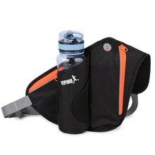Yipinu Waterproof Running Hydration Outdoor Shoulder Bags Sport Running Water Hip Phone Bag Belt Racing Gym Waist Bag