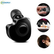 HANGRUI Mini S560 Wireless Bluetooth Earphone Stealth Bluetooth Headset Hands free Sport Earphones with Microphone For iphone 7